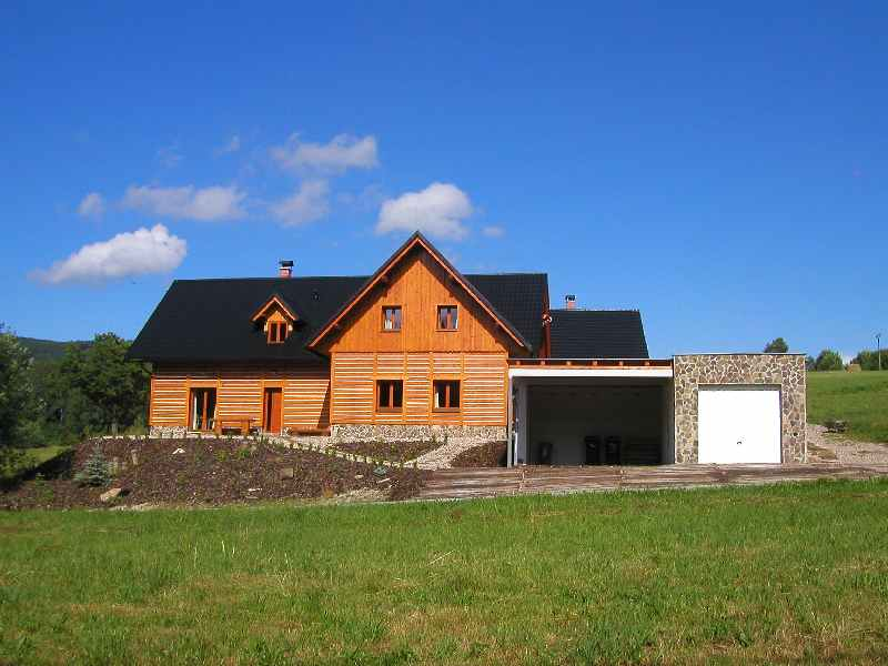 Ferienhaus Dolni Morava: Adlergebirge Ferienhaus mit Sauna